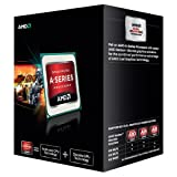 AMD A6 5400K Black Edition CPU (3.6GHz, 1MB Cache, 2Core, HD7540D, Socket FM2, 65W)