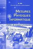echange, troc Michaël Siri - Mesures physiques et informatique 2e générale et technologique option MPI : Livre du professeur