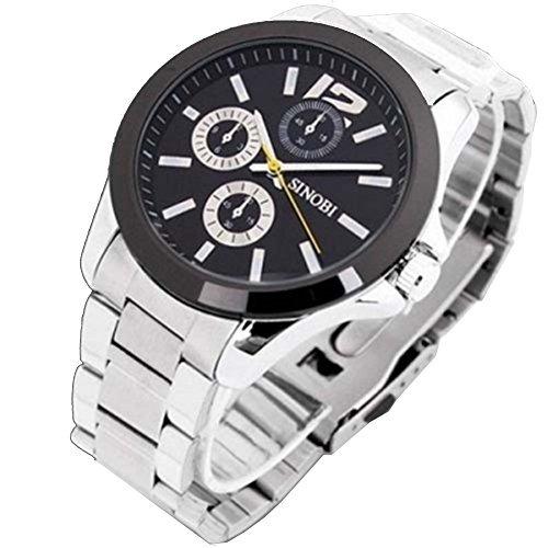 Soleasy Männer stilvolle Kreative Gefüttert-Scale-Automatik-Uhrwerk Armbanduhren WTH0166