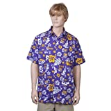 Louisiana State University Purple Hawaiiabera Shirt