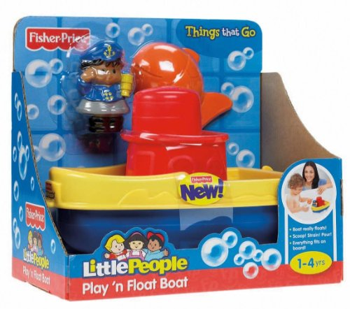 Fisher-Price Little People Play 'n Float Bath Boat at Sears.com