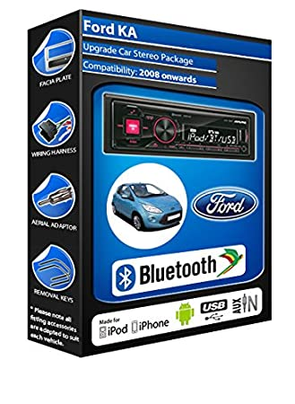 Ford Kuga autoradio Alpine UTE 72BT-kit mains libres Bluetooth pour autoradio stéréo