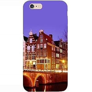Casotec Amsterdam Design Hard Back Case Cover for Apple iPhone 6 Plus / 6S Plus