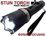 ELECTRIC (STUN) SECURITY TORCH CUM POWERFUL FLASH LIGHT -PIA INTERNATIONAL