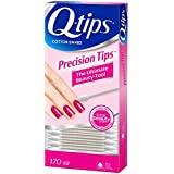 Q-Tips Cotton Swabs, Precision Tips, 170 Count (Pack of 3)