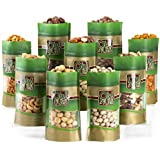 Mixed Nuts Gift Box - 9 Gourmet Varieties 45 Oz - Oh! Nuts (Nine Varieties)
