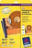 Avery Zweckform 6407 CD-Beschriftungs-Set DIN A4 10 ETK, 10 Einleger, 1 Software, 1 Zentrierhilfe