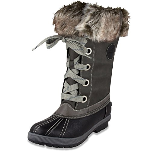 london-fog-womens-melton-cold-weather-waterproof-snow-boot-black-grey-8-m-us