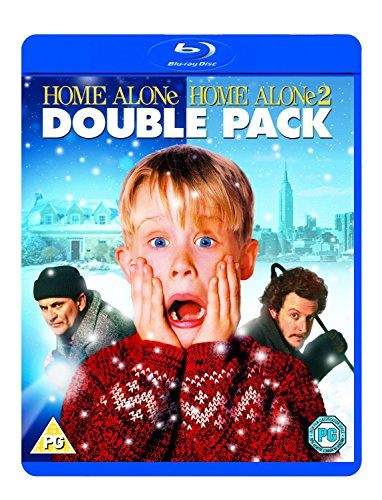 Home Alone 1 & 2 [Blu-ray] [Region Free] [UK Import] (Home Alone 2 Blu Ray compare prices)