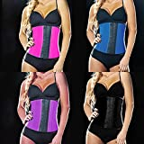 Alcoa Prime Waist Corsets Cincher Zipper Ganchos Corset Rubber Instrutor Shapewear Smooth Latex Corset 4 Colors New Sale