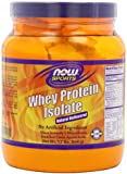 NOW Foods Whey Protein Isolate Pure, 1.2 -Pounds,Pack of 3
