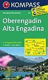 Oberengadin - Alta Engadina: Wanderkarte. GPS-genau. 1:40000