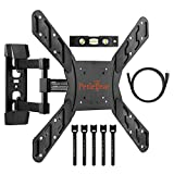 Perlegear Full Motion Articulating TV Wall Mount Bracket for most 23-55 Inch LED, LCD, OLED and Plasma Flat Screen TVs VESA patterns up to 400 x 400mm - 16