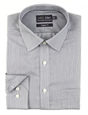 Performance Pure Cotton Striped Shirt