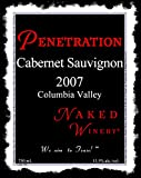 2007 Naked Winery Penetration Cabernet Sauvignon 750 mL