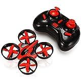 REALACC Mini UFO Quadcopter Drone Blade Inductrix RTF Mode 2 (Red)