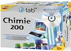 Joustra - 47002 - Jeu Éducatif et Scientifique - Jeu Scientifique - Chimie 200 - E=Lab