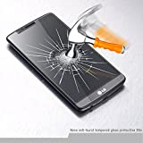 EasylifeTM LG G3 Screen Protector LG G3 Tempered Screen Protector Tempered Glass Protector LG G3 Supreme Premium Tempered Glass Screen Protector Anti-Scratch, Anti-Fingerprint, Bubble Free, Explosion-Proof and Pressure-Resistant for LG G3
