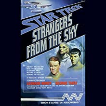 Star Trek: Strangers from the Sky (Adapted) Audiobook by Margaret Wander Bonanno Narrated by George Takei, Leonard Nimoy