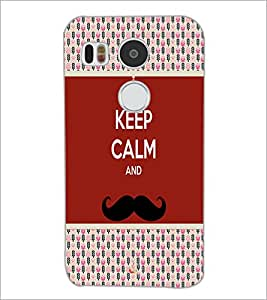 PrintDhaba Quote D-6053 Back Case Cover for LG NEXUS 5X (Multi-Coloured)