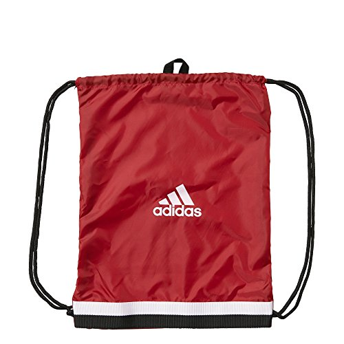 Adidas - Sacca da sport tiro GB, Power Red/White, 40 x 50 x 2 cm, 10 litri, s13312