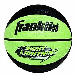 Buy Franklin Sports Night Lightning Basketball by Franklin