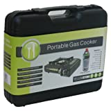 Yellowstone Portable Gas Stove - Black and Greenby Yellowstone
