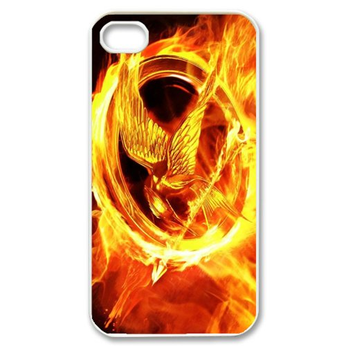 CTSLR Movie & Teleplay Series Protective Hard Case Cover for iPhone 4 & 4S - 1 Pack - The Hunger Games - 1