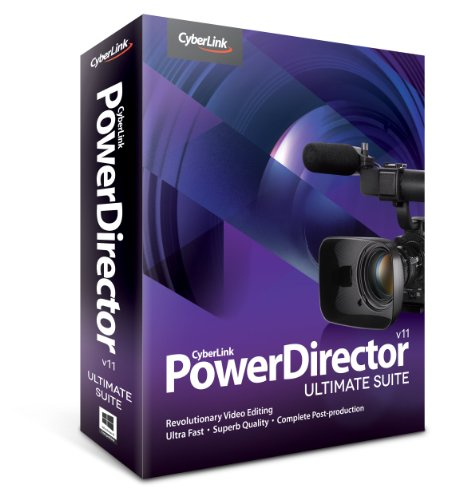 Cyberlink PowerDirector 11 Ultimate Suite