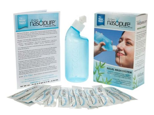 Nasopure Nasal Wash - Sinus Irrigation System - 8 ounce bottle