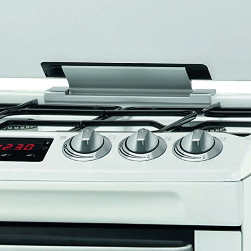 Zanussi ZCG552GWC 550mm Double Gas Cooker Gas Grill White