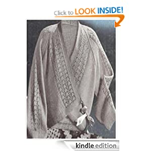 FREE KNITTING PATTERN LADIES BED JACKET - VERY SIMPLE FREE ...