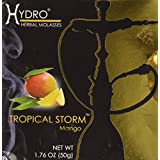 Hydro Herbal Mango Hookah Shisha Tobacco Free Molasses, 50g