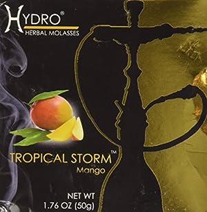 Hydro Herbal Mango Hookah Shisha Tobacco Free Molasses, 50g