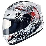 TankedRacingT112 バイクヘルメット フルフェイスヘルメット フルフェイス TankedT112 Tanked RacingT112 おしゃれ bike helmet バイク用品 内装洗濯可能 シールド付 レディース メンズ(サイズM:55cm-56cm)