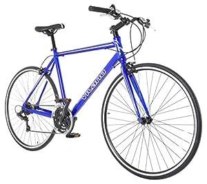 Vilano Performance Hybrid Bike Small  Flat Bar Road Bike Shimano 21 Speed