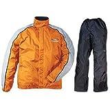 ラフ&ロード デュアルテックス コンパクト レインスーツ オレンジ LD RR5232