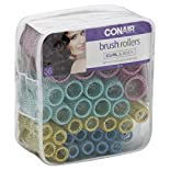 Conair Brush Rollers, Curl & Body, 36 pieces