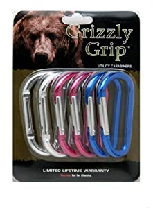 Grizzly Grip Utility Carabiners