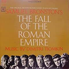 THE FALL OF THE ROMAN EMPIRE - ORIGINAL MOTION PICTURE SOUNDTRACK LP