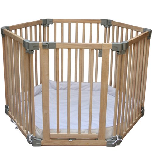 Clippasafe Natural Wood Play Pen