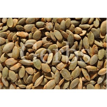 Dry Roasted Pumpkin Seed Kernels With Sea Salt By Gerbs - 4Lb. Deal. Certified Top 10 Allergen Free - Non Gmo - Country Of Origin Mexico