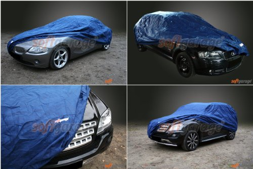 softgarage blau MERCEDES-BENZ 123 (W123) Faltgarage Carcover