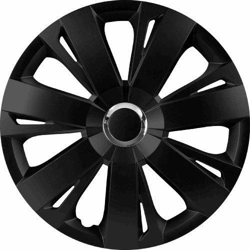 RAU-5602-Copri-Cerchio-Coprimozzo-Energy-Adatto-a-tutti-gli-standard-per-ruote-in-acciaio-Nero-4-pezzi