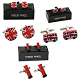 Royal Britannia Cufflink Set