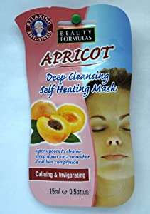 Beauty Formulas Apricot Cleanser Self Heating Mark