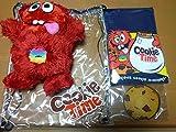 クッキータイム(Cookie Time) ニュージーランド クッキーマンチャーぬいぐるみ Tシャツ ビニールバッグ付 ポストカード23枚