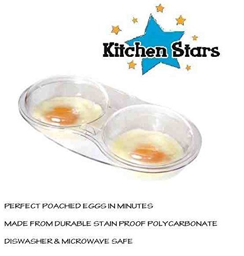 microwave-egg-poacher-cooker-twin-cup-with-lid-clear-stain-proof-strong-and-durable-poach-perfect-eg