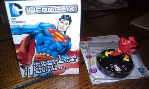 DC Heroclix 10th Anniversary The Flash #10 counter top - 1