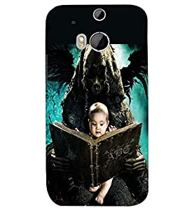 PRINTSWAG BABY WITH GHOST Designer Back Cover Case for HTC ONE M8S